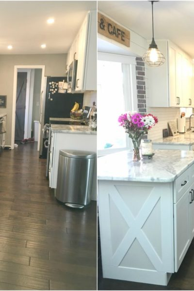 How to Add Farmhouse Cabinet Trim – $15 to Add Character to your Kitchen