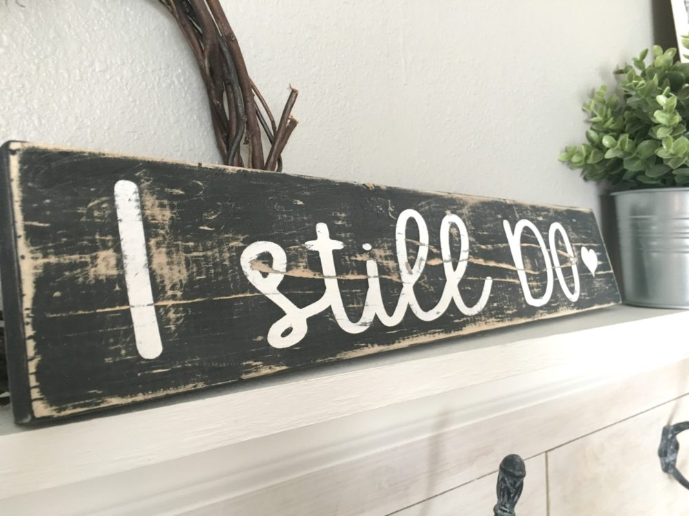 Easy Scrap Wood Sign with FREE Graphic