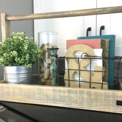 How to Build a Modern Farmhouse Wood Tray