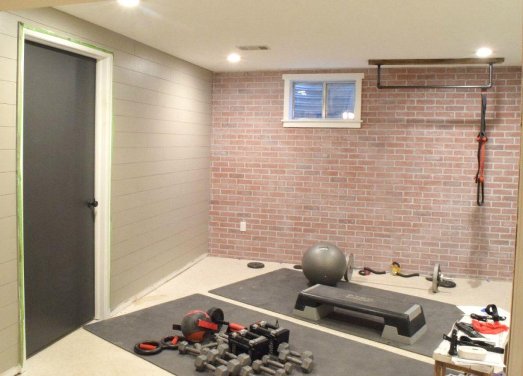 Industrial home gym makeover week dream design diy