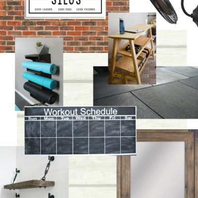 Industrial Home Gym Makeover – Week 1
