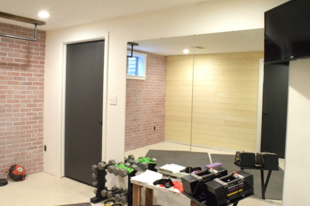 Industrial Home Gym Makeover