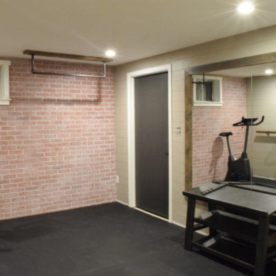 Industrial Home Gym Makeover – Reveal Week