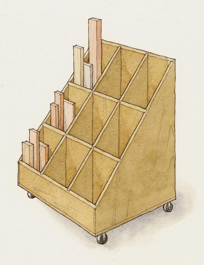 12 Diy Lumber Storage Racks Dream Design Diy