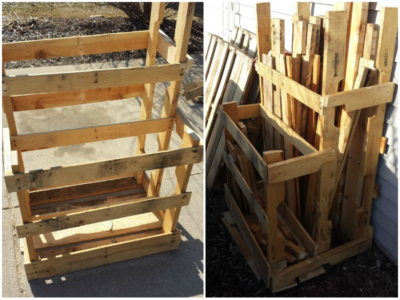 12 DIY Lumber Storage Racks