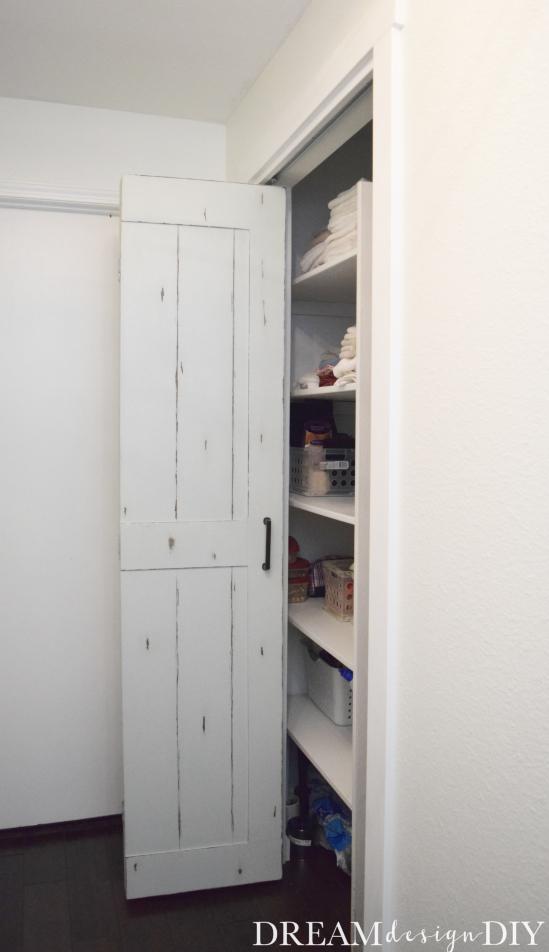 Diy Bifold Barn Door Transform A Closet Door For 15 With 1 4 Plywood