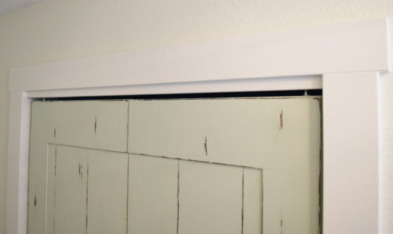 DIY Bifold Door Frame Trim