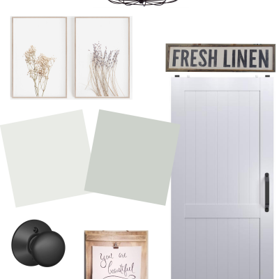Budget Friendly Hallway Refresh