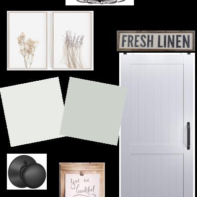 Budget Friendly Hallway Refresh