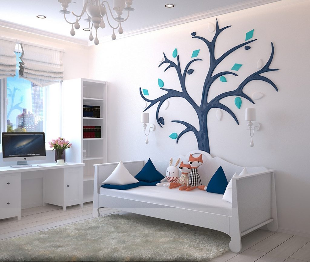 Here are 5 simple ways to transform a room that are quick, easy and you can DIY. These budget friendly ideas will make a statement in any room. The fab five are paint, lighting, area rugs, window treatments, decor/art. #interiordesign #diy #decorating #roomrefresh