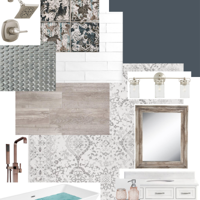 Moody Master Bathroom Remodel – Week One