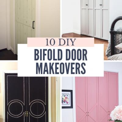 10 Amazing DIY Bifold Door Makeovers