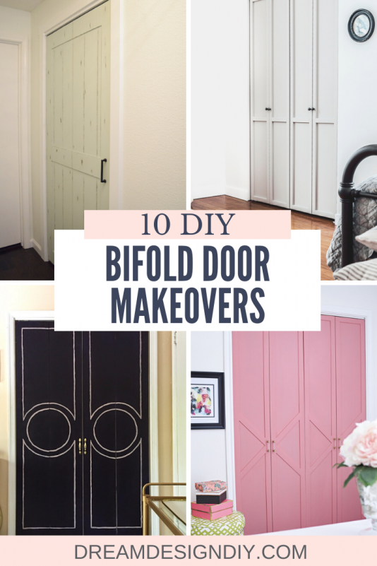 10 DIY Bifold Door Makeovers