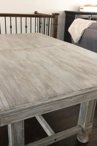 Get the Restoration Hardware aged look in this easy step by step tutorial.