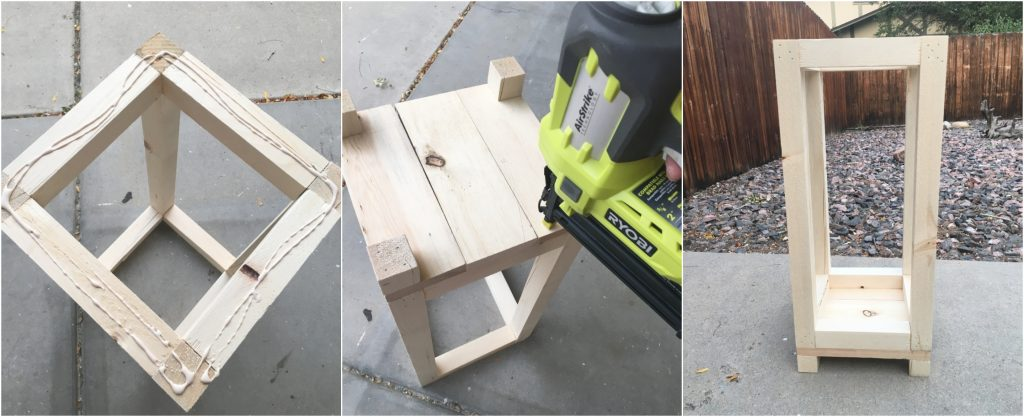 Make these Simple DIY Wood Lanterns out of minimal pieces of wood or scrap wood. They make fabulous deco in your house, by your front door or your back patio. #diy #woodworking #scrapwood