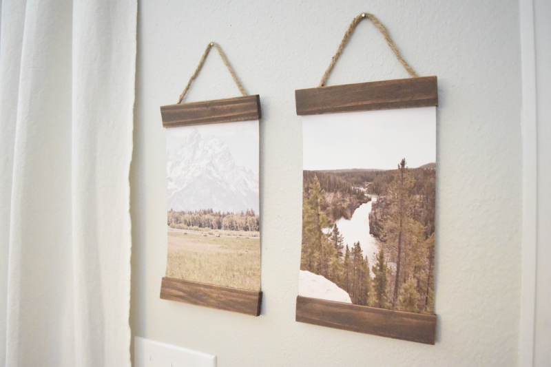 DIY Picture Hanger: An Easy and Cheap Way to Display Wall Decor
