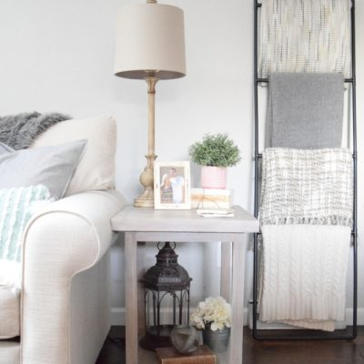 DIY End Tables – Build Two for $50